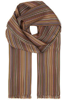 PAUL SMITH Signature striped scarf