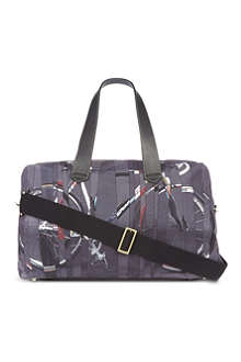 PAUL SMITH Bike print holdall