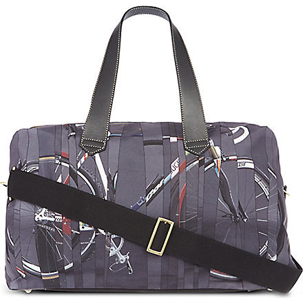 PAUL SMITH Bike print holdall (Black