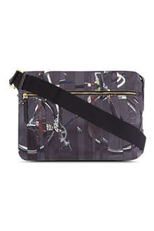 PAUL SMITH Bikes flight bag