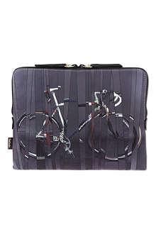 PAUL SMITH Bike printed tablet case