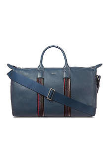 PAUL SMITH City Webbing leather holdall