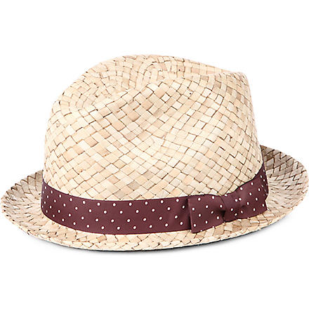 PAUL SMITH Bovens straw hat (Beige
