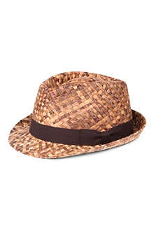 PAUL SMITH Dégradé straw hat