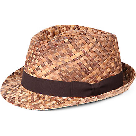 PAUL SMITH Dégradé straw hat (Brown