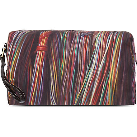 PAUL SMITH Coloured Wires wash bag (Multi