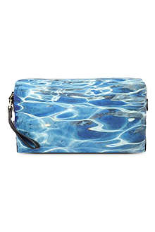 PAUL SMITH Water-print wash bag