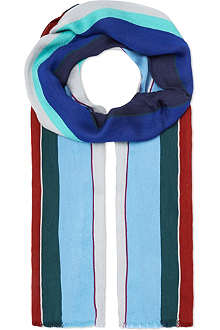 PAUL SMITH Fiocca stripe scarf