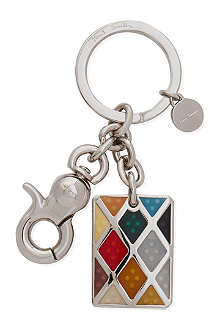 PAUL SMITH Harlequin key ring