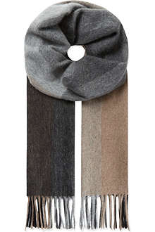 PAUL SMITH ACCESSORIES Cashmere check scarf