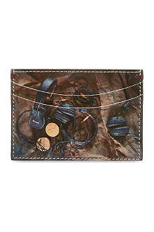 PAUL SMITH ACCESSORIES Headphone print card holder