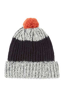 PAUL SMITH ACCESSORIES Knitted bobble hat