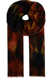 PAUL SMITH ACCESSORIES Flame scarf