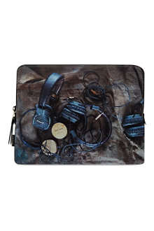 PAUL SMITH ACCESSORIES Headphone print tablet case