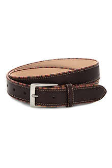 PAUL SMITH ACCESSORIES Multi-striped leather belt