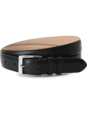 PAUL SMITH ACCESSORIES Classic leather suit belt