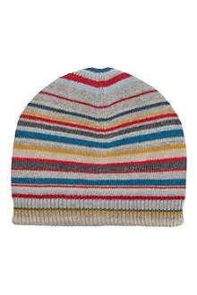 PAUL SMITH ACCESSORIES Multi stripe beanie