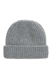 PAUL SMITH ACCESSORIES Plain knitted beanie