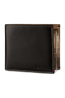 PAUL SMITH ACCESSORIES Mini Bristol billcoin wallet