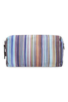 PAUL SMITH ACCESSORIES Striped wash bag