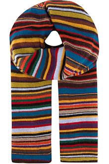 PAUL SMITH ACCESSORIES Signature striped scarf