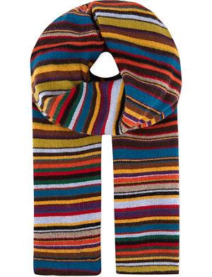 PAUL SMITH ACCESSORIES Signature striped scarf