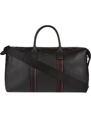 PAUL SMITH ACCESSORIES Pebbled leather holdall