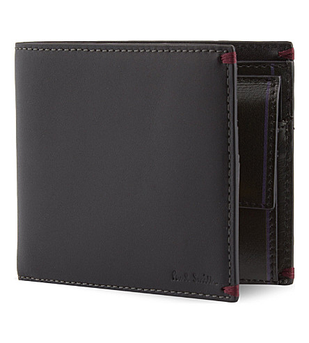 PAUL SMITH ACCESSORIES Billfold wallet (Black