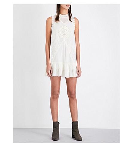 FREE PEOPLE Angel lace dress (Ivory