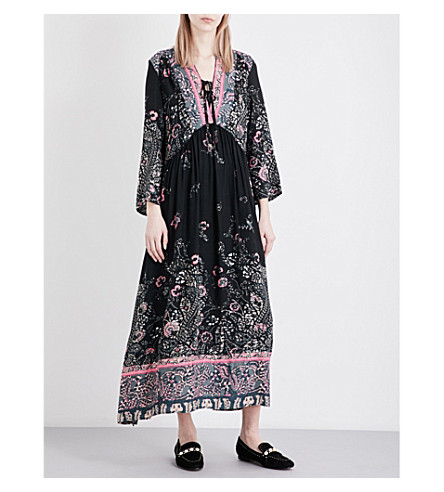 FREE PEOPLE If You Only Knew crepe dress (Black