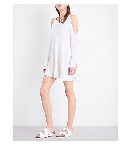 FREE PEOPLE Clear Skies woven tunic (White