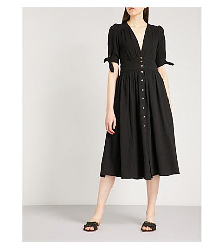 FREE PEOPLE Love of My Life cotton dress (Black