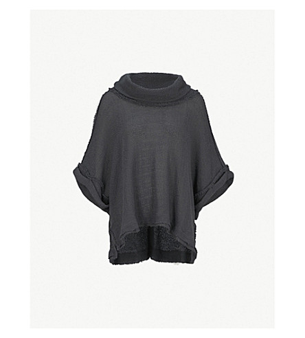 FREE PEOPLE So Comfy knitted top (Grey
