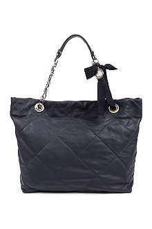 LANVIN Amalia large leather tote