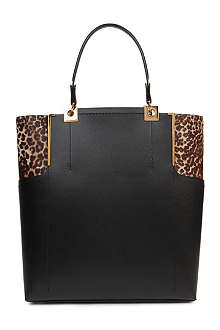 LANVIN Partition medium pony tote