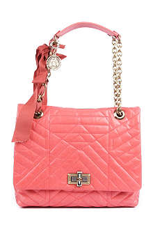 LANVIN Happy medium quilted leather shoulder bag