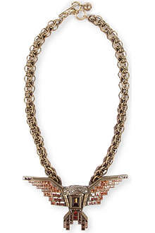 LANVIN Maria Felix line eagle necklace