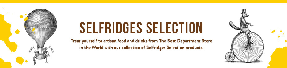 Treat yourself to artisan food and drinks from The Best Department Store in the World with our collection of Selfridges Selection products.
