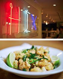 Hix Restaurant Champagne & Caviar Bar