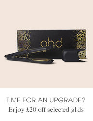 Enjoy #20 off selected ghds
