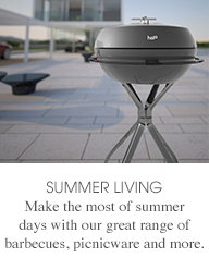 SUMMER LIVING - Make the most of summer days with our great range of barbecues, picnicware and more.