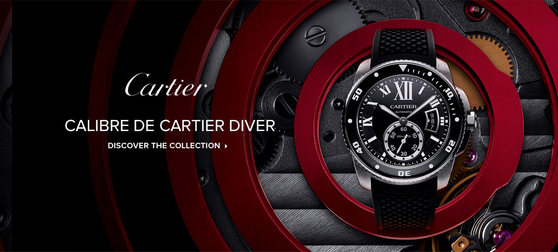 Calibre De Cartier Diver - movement Manufacture 1904 MG - discover the collection