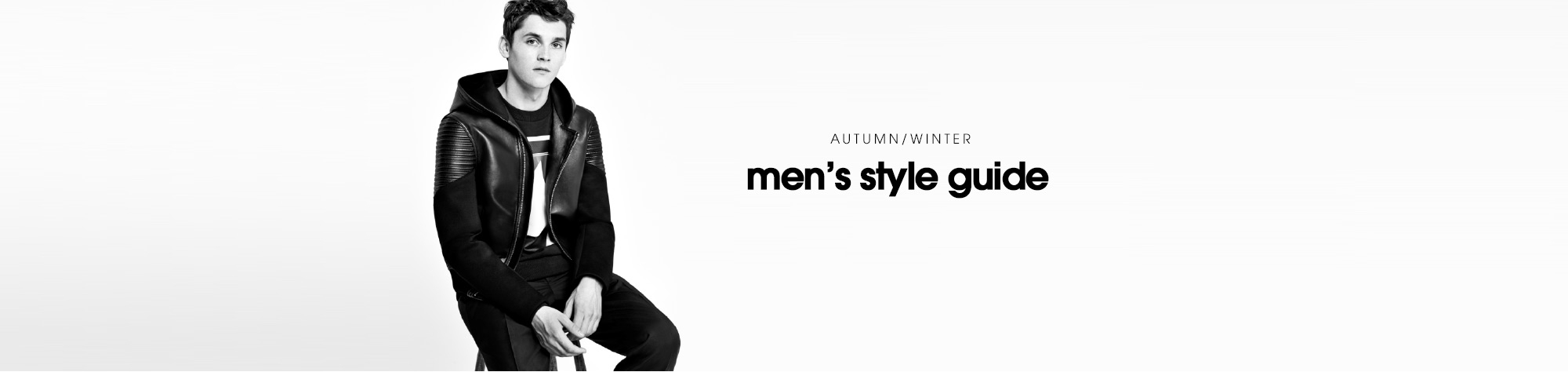 AUTUMN/WINTER men's style guide