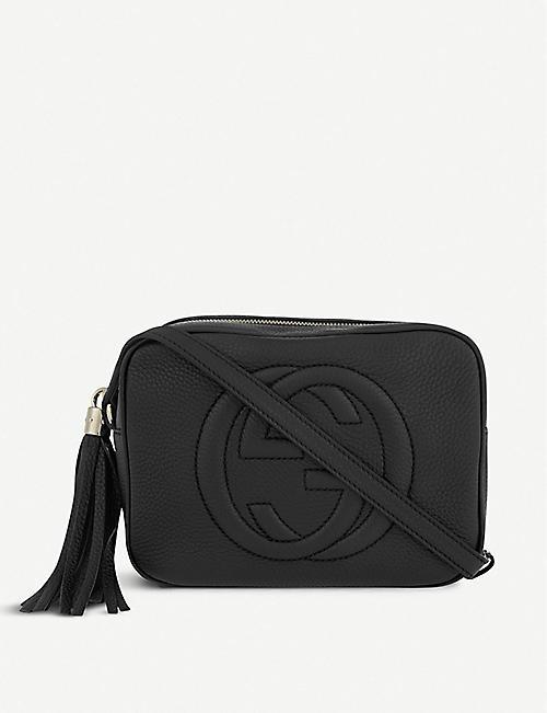60b3d13889dbad GUCCI - Soho leather cross-body bag