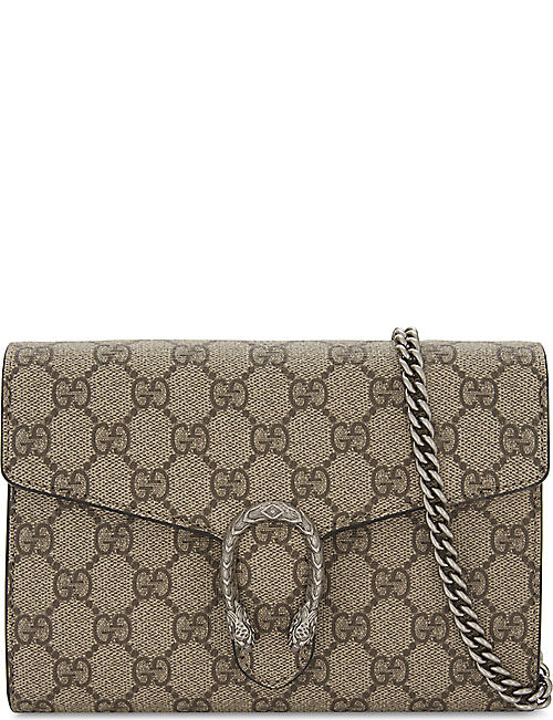gucci bags leather. gucci dionysus gg supreme wallet-on-chain gucci bags leather