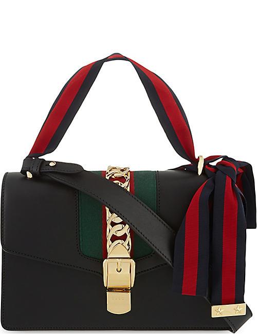 617c503b0f8e GUCCI Sylvie leather shoulder bag
