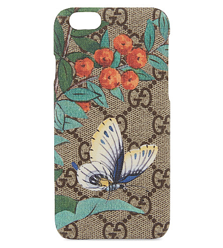 GUCCI Garden print iphone 6/6s case (Multi