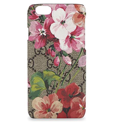 GUCCI GG Blooms iPhone 6/6S case (Beige multi
