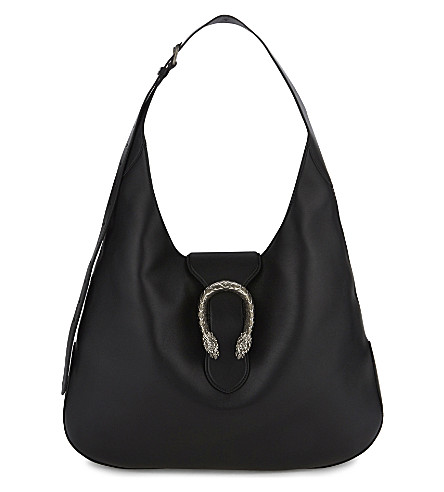 GUCCI Dionysus extra large leather hobo (Black
