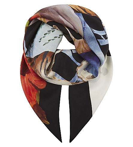 GUCCI Guccify Yourself silk scarf (Multi